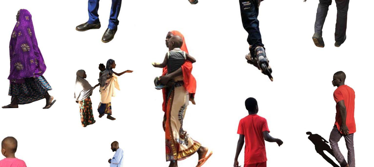 Afrikut, Une Bibliothèque de Personnages Détourés Africains
