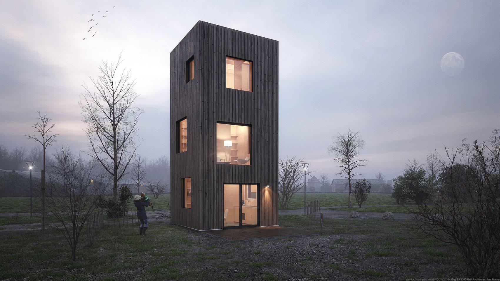Interview de Yannick Coudreau,Graphiste 3D Spécialisé en Architecture