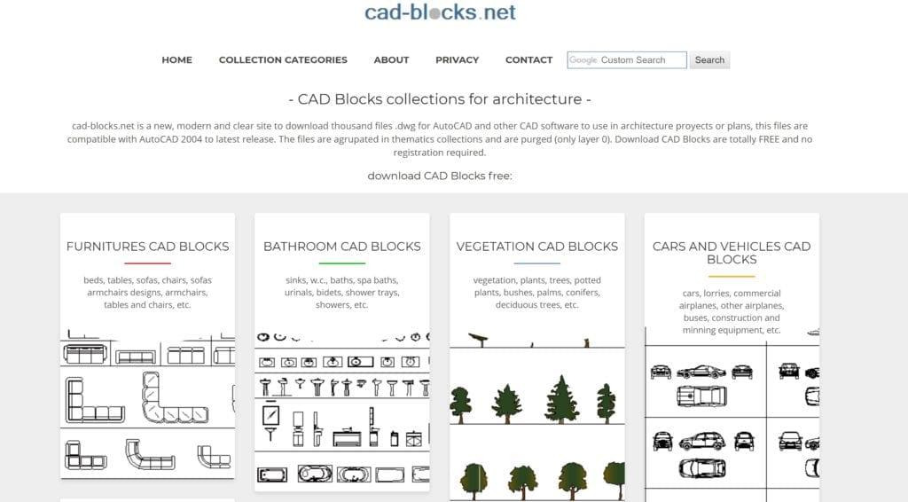 Audacieux 10 Sites où Télécharger des Blocs DWG Pour Autocad | ArchiGrind OM-13