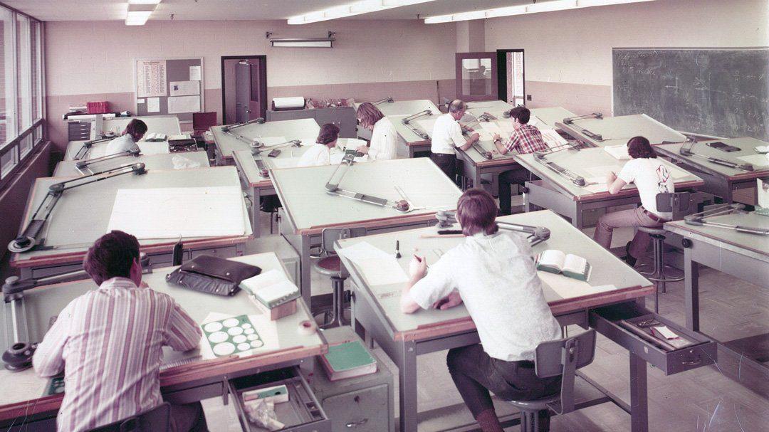 Comment était La Vie Avant Autocad ? Brève histoire du DAO
