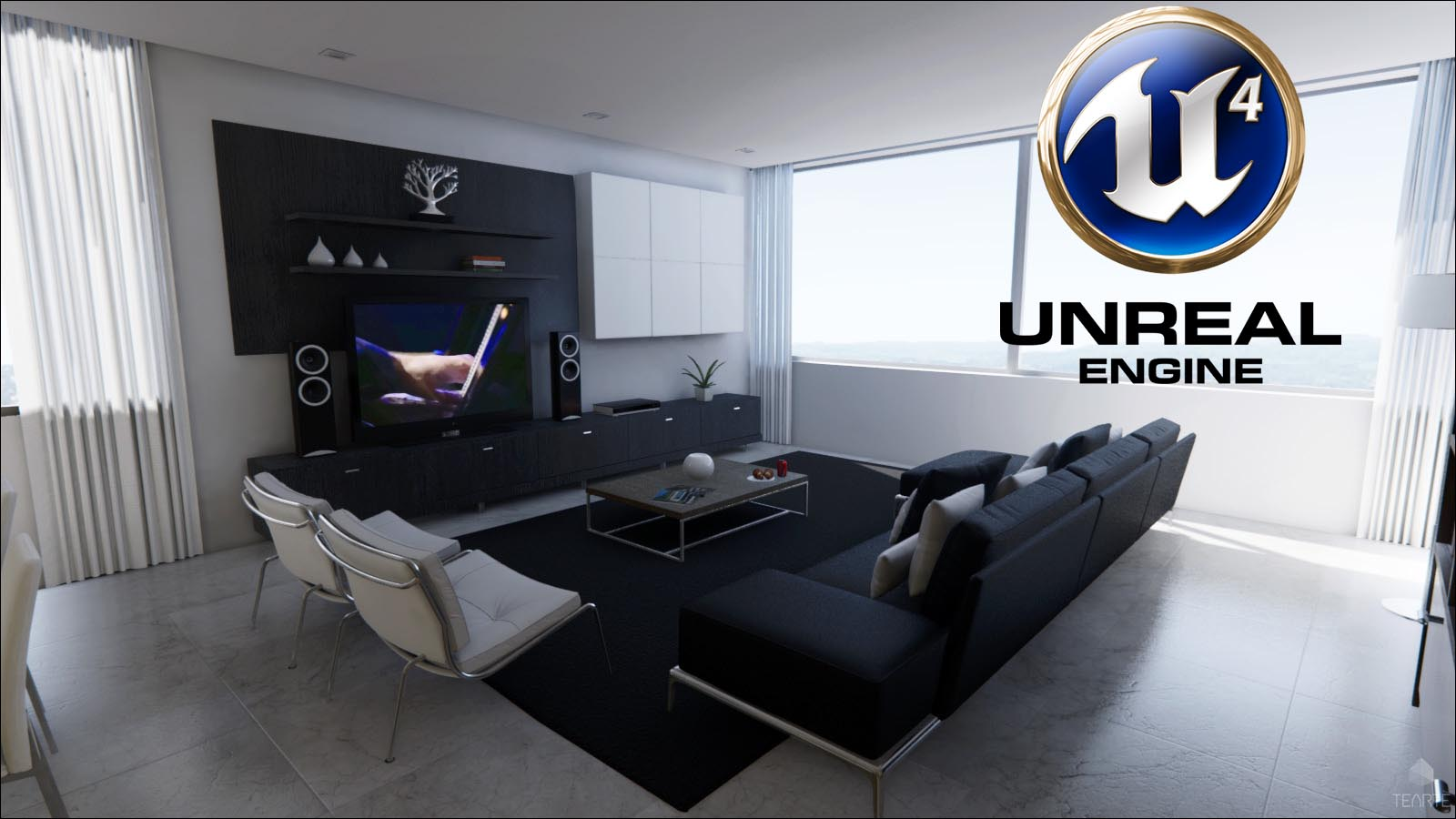 Unreal Engine 4 & Architecture : Un duo Gagnant