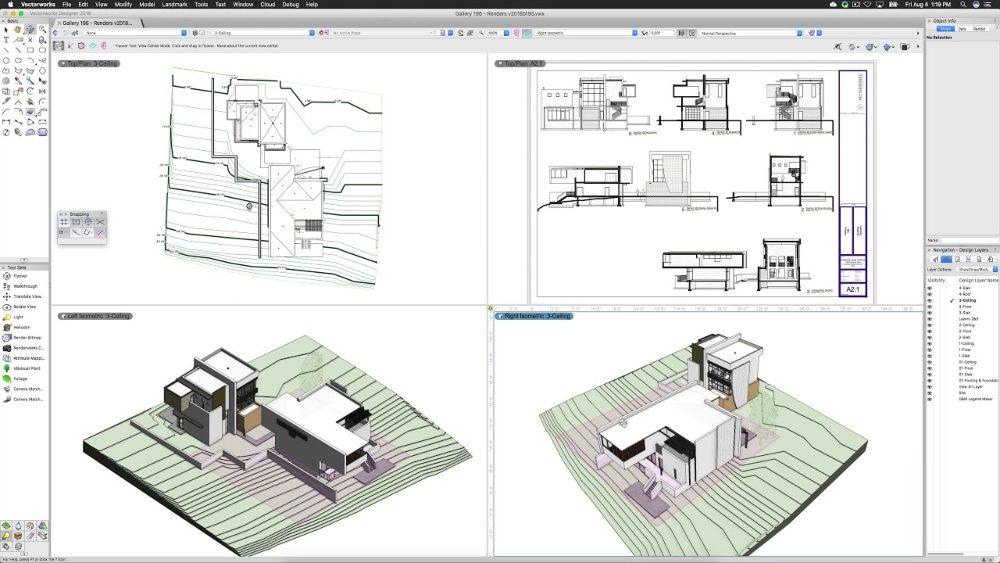 Vectorworks Architecture : Avantages et Inconvénients
