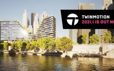 Twinmotion 2021 est là (et il est génial!)