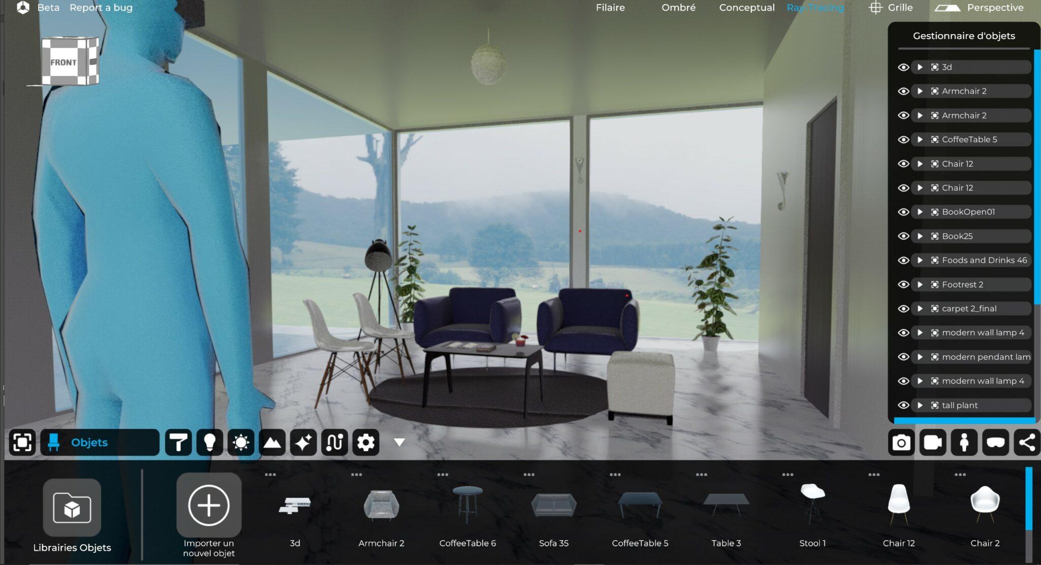 eyecad vr interface